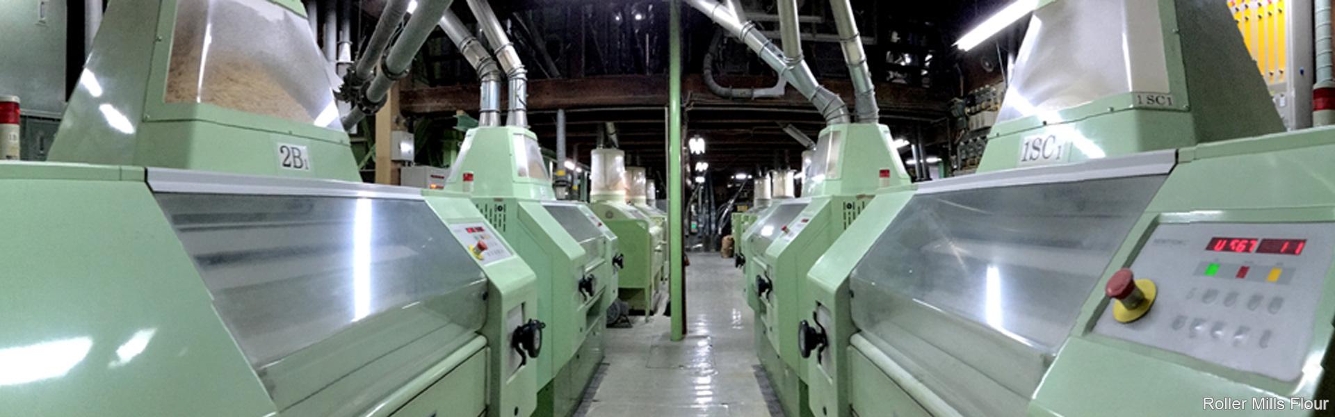 Roller Mills Flour