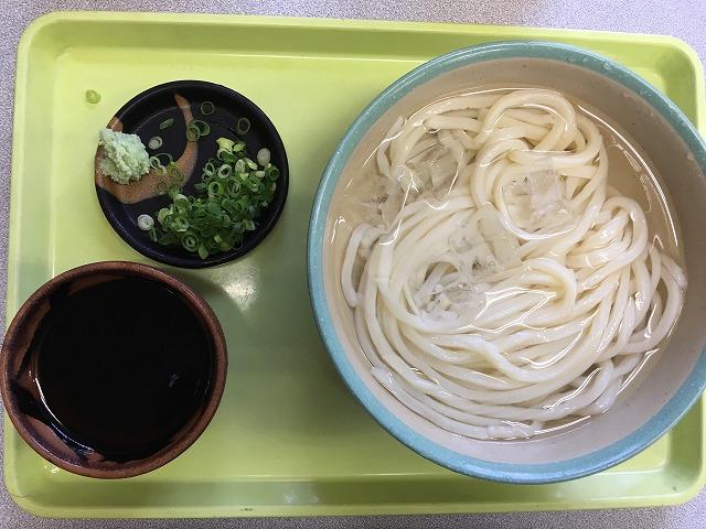 017年7月30日 冷やしうどん@坂出市 剛麺でしかもおいしい!