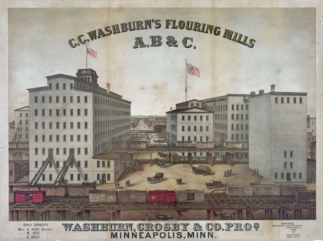 ウォッシュバーン製粉工場