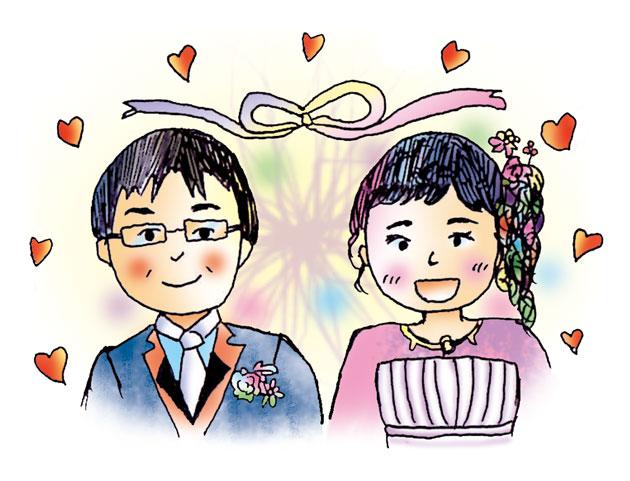ひろしさん・まゆみさん、ご結婚おめでとう!