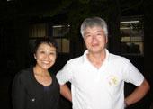 コナモン協会会長と@香川大学