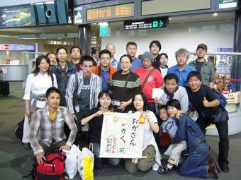 皆さんお疲れさまでした@高松空港